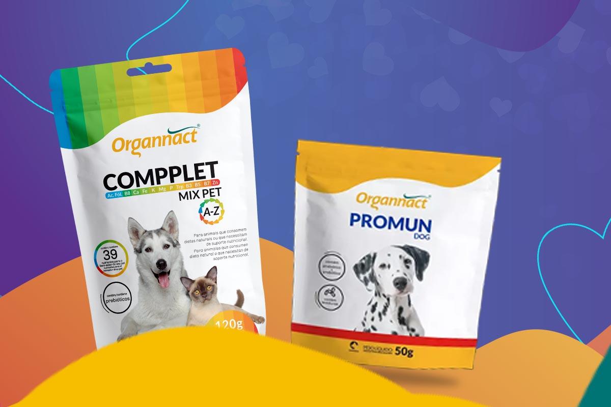 produtos Compplet Mix e Promun